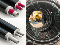 UK Stock pre insulated pipes